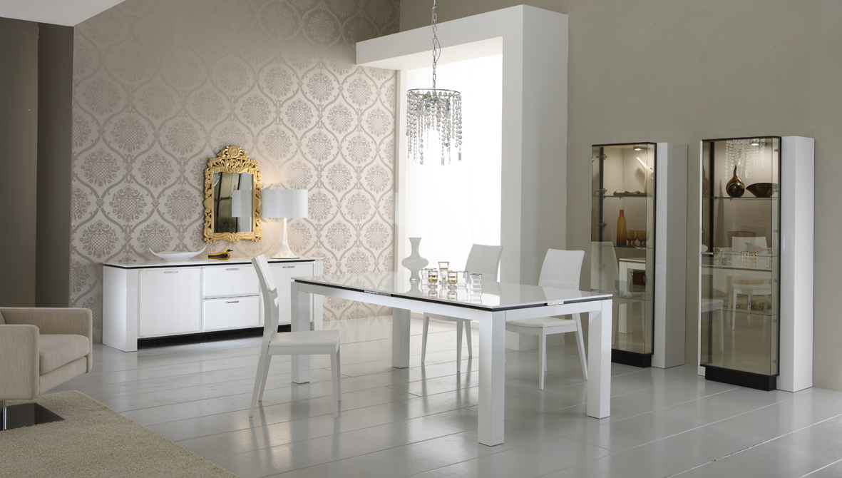 European Furniture, Modern Bedrooms, Contemporary Sectionals - IQ Matics :  home italian dining home furnishings european dining table