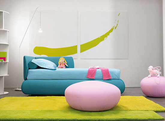 Candy Twin Bed by Bonaldo at IQMatics