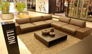 King - Modular Sectional with Shelf