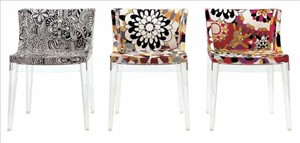 Kartell - Mademoiselle Chair (Missoni Fabric)