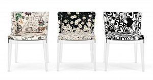 Kartell - Mademoiselle Chair (Moschino Fabric)