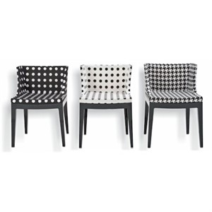 Kartell - Mademoiselle Chair (Starck Fabric)
