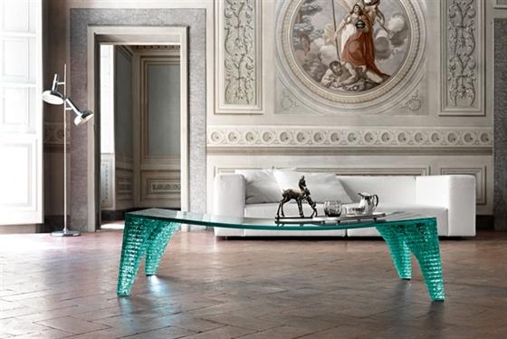 Fiam Tavoli In Cristallo.European Furniture Modern Italian Furniture Chicago