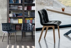 Bontempi Casa - Kuga Wood Chair - QS
