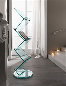 Tonelli - Albero Glass Bookcase
