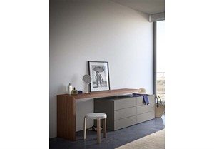 Pianca - Domino Desk Vanity and People Dresser – SALE