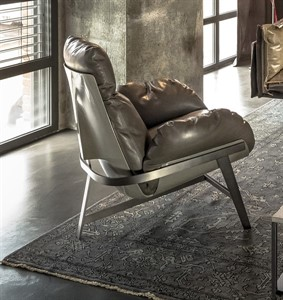 Arketipo - Jupiter Lite Armchair with Ottoman