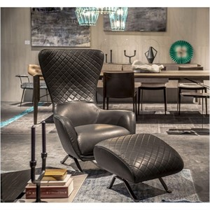 Arketipo - Sin Seaty Armchair with Ottoman