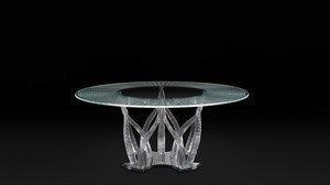 Reflex - Flambe Dining Table