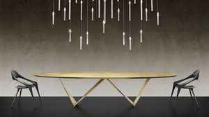 Reflex - Prisma Steel Special Dining Table