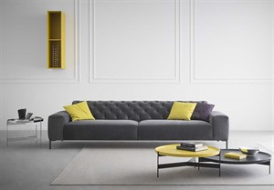Pianca - Boston Sofa with Tufted Back- QS