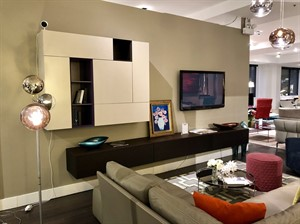 SPAZIO entertainment wall unit - SALE