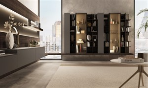 Turati - Bookcase London Canary Wharf