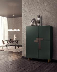 European furniture modern italian furniture chicago for Sideboard quadra
